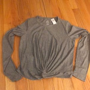 NWT Gray Shirt from Aerie